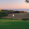 A view of a hole at Ocean South from Pelican Hill Golf Club