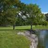 A view over the water at Winged Foot Golf Club