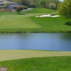 A view over the water of a fairway at Rockland Country Club