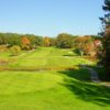 A sunny day view from a tee at Cape Neddick Country Club