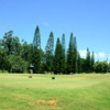 A warm day view from a tee at Leilehua Golf Course
