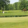 A view of a green at Raintree Country Club