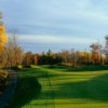 A fall view of hole #17 at Big Fish Golf Club