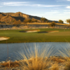 A view of the 18th green from #10 tee box at Verrado Golf Club - Founders Course
