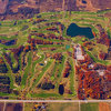 Aerial view from Brighton Dale Links