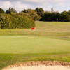 A view of the 15th green at Weymouth Golf Club