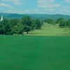View of a green at Clinchview Golf Club