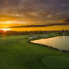 Sunset view at Harmony Golf Preserve