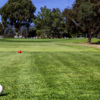 A view from a tee at Mission Bay Golf Course