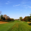 Fall view from the 3rd white tee at White Birch course at Brighton Dale Links
