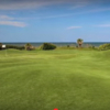 A view of a green at Tom Fazio Links Course from Hammock Dunes