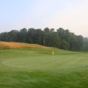 Looking back from 18th green at Inniscrone