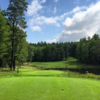 A view from the 12th tee at TimberStone Golf Course from Pine Mountain