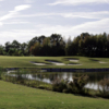 A view of the 17th green at Big Oaks Golf Course