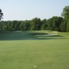 A view of hole #13 at Old Waverly Golf Club