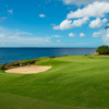 A view of green #8 at Teeth of the Dog from Casa de Campo