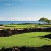 A view from a tee at Hualalai Golf Club (Four Seasons Resort Hualalai)