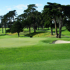A view of a green at Lake Merced Golf & Country Club