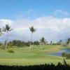 A view of the practice putting green at Hawaii Prince Golf Club