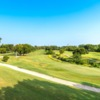 View of the 9th green at Hawk's Creek Golf Club