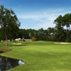 A view from fairway at River Oaks Golf Plantation
