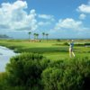 A view of a tee from Ocean Point at Fripp Island Resort