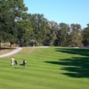 A sunny day view from Wrenwoods Golf Club at Charleston Air Force Base