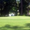 A view of a green at La Vida Country Club
