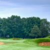 A view over the tricky bunkers at Mississippi Dunes Golf Links