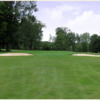 A view of the 1st green at Kane Country Club