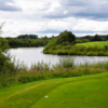 A view from a tee box at Fairfield Golf & Sailing Club