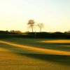 View of the 18th green from the Trilogy Golf Club at Power Ranch