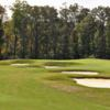 View of a bunkered green from the Bear Trace at Harrison Bay State Park