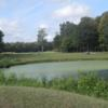 A view over a pond at Deer Run Golf Club