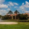 A view of the clubhouse at Colonial Country Club