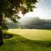 View of a green at Pilgrim's Run Golf Club