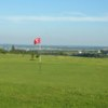 A view of the 7th green at French River Golf Course.