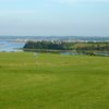 A view of a hole #13 at French River Golf Course.