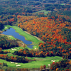 Aerial view of hole #8 at Crumpin-Fox Club